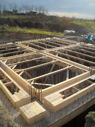 Progetto per la realizzazione di deposito agricolo interrato in localita' Castellaro – Tenuta di Castellaro srl Lipari
