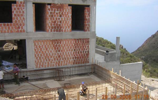 Progetto per la realizzazione di un fabricato per civile abitazione, localita' San Salvatore di Lipari