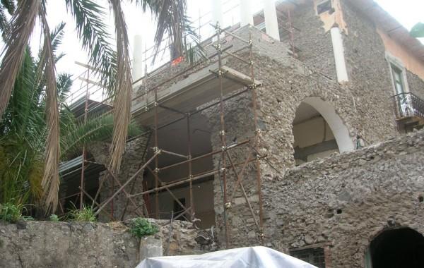 Progetto per il restauro conservativo di un immobile da destinare a museo – Isola di Salina – Malfa