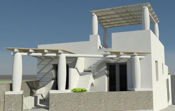 Progetto per la ristrutturazione di un immobile residenziale in localita' Piscita' di Stromboli isola di Stromboli – Lipari