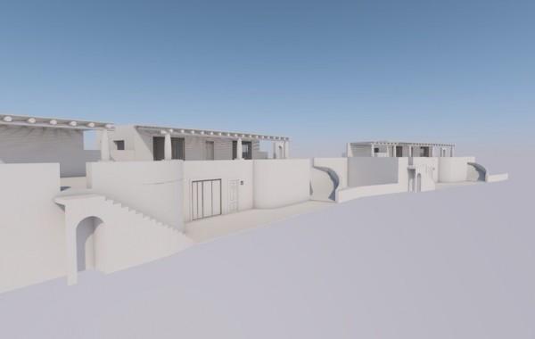 Progetto per la realizzazione di villette unifamiliare in localita' Pianoconte di Lipari