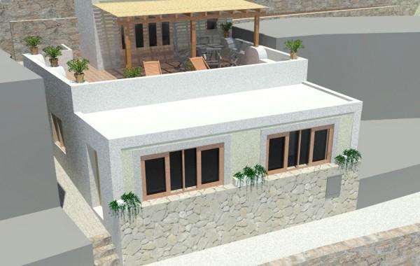 Progetto per la ristrutturazione di un immobile residenziale in localta' Pecorini Mare isola di Filicudi – Lipari