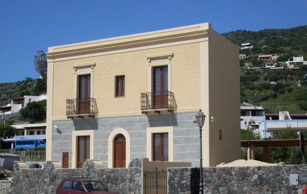 Progetto per il restauro conservativo di un immobile da destinare a museo – Isola di Salina Santa Marina Salina – Leni