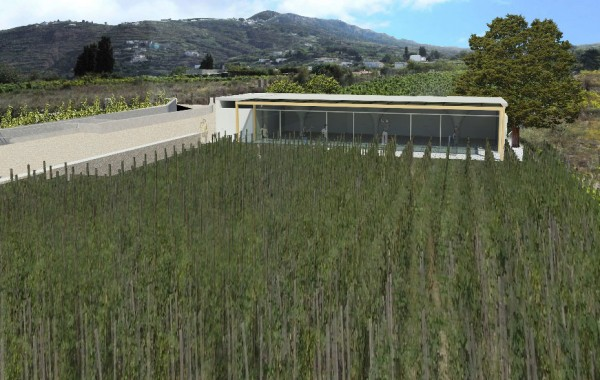 Progetto per la realizzazione di una cantina vinicola in localita' Castellaro – Lipari