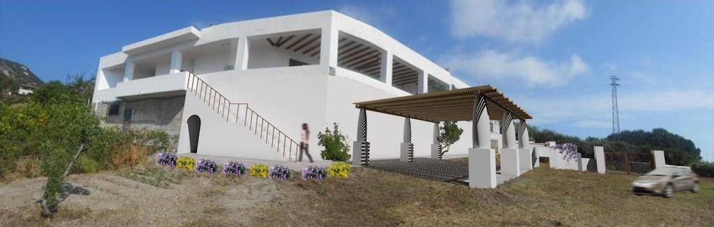 Progetto per la sistemazione di un'area esterna a parcheggio in localita' Lami – Lipari